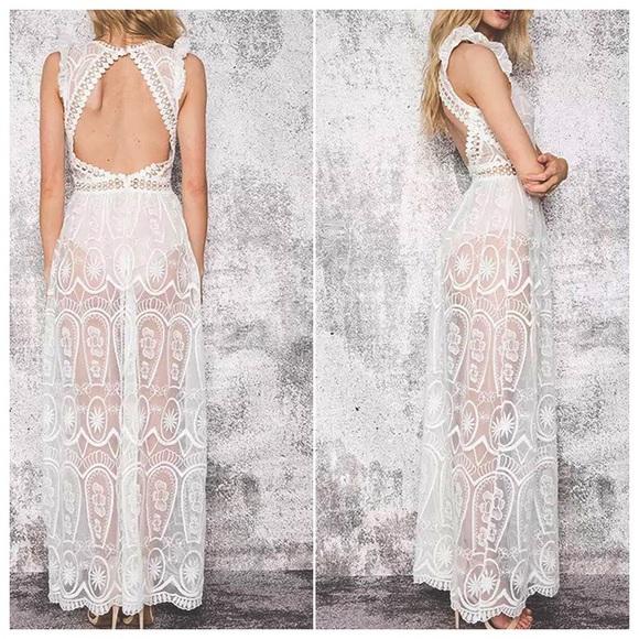 1ad7b8781e0191 Romantic Pretty Bohemian Princess Dress